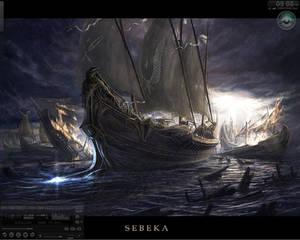 Dark Stormy Desktop