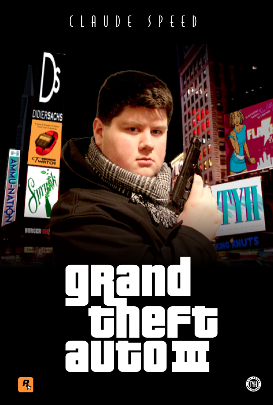 GTA 3 - Claude Speed Cosplay Poster (FAN-MADE) by TheYoungHistorian