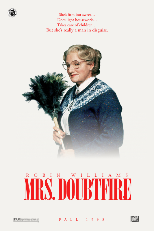 Mrs Doubtfire 1993 Teaser By Theyounghistorian On Deviantart