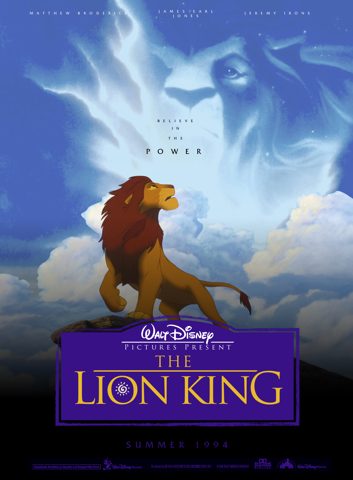 The Lion King 1994 Teaser By Theyounghistorian On Deviantart
