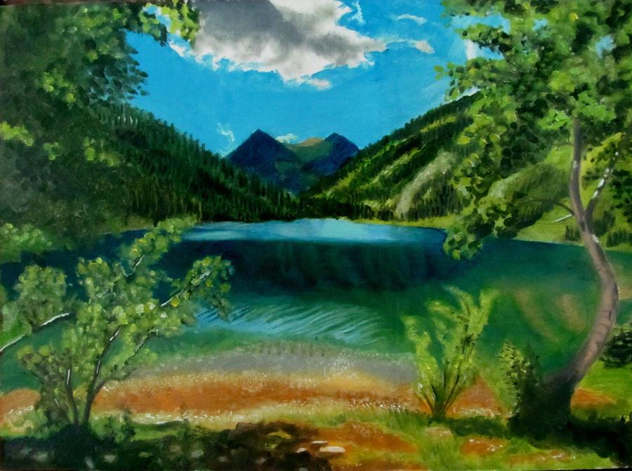 landscape by mritunjay-singh