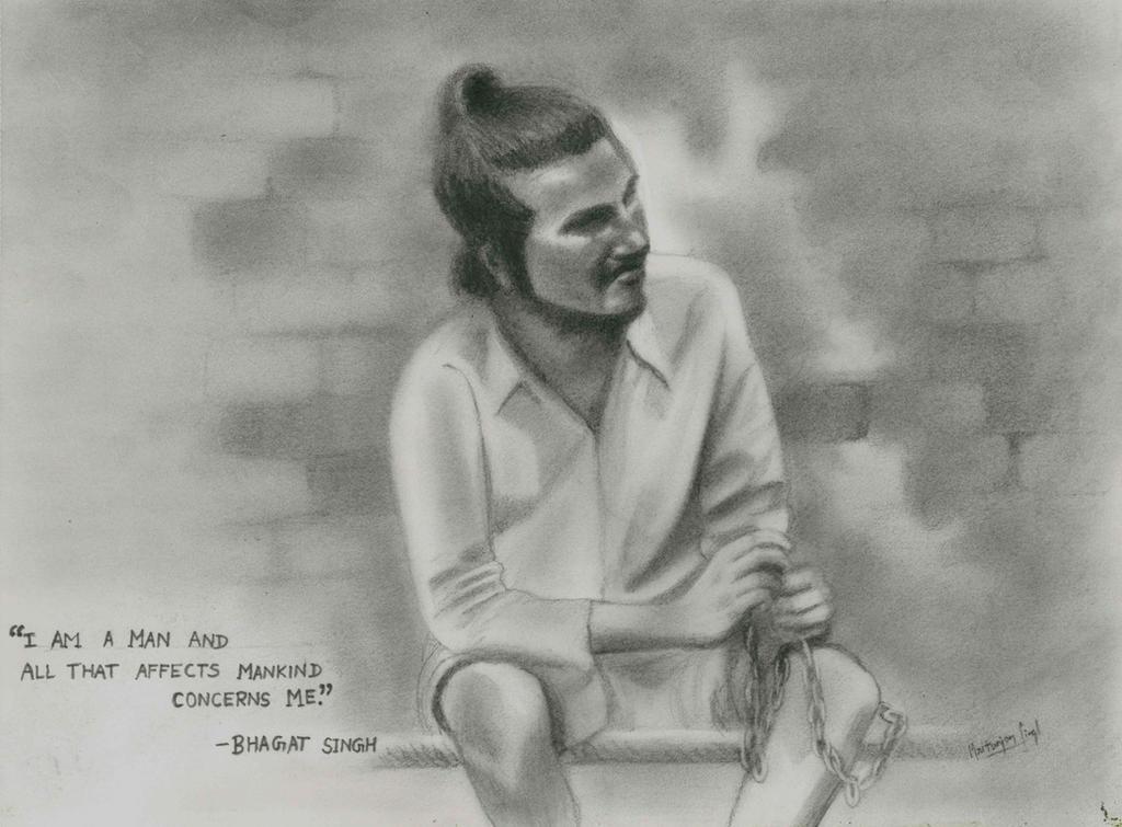 bhagat singh sketch wallpaper - photo #21