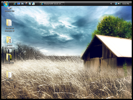 Desktop Screen Shot by MadameM-stock