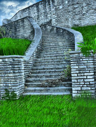 Stairs at Old Fort Sneakpeak