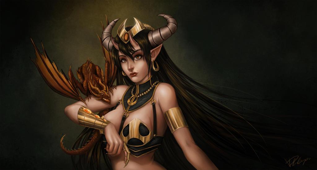 Dragonessa by Veelocity