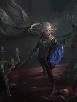 The dark shield