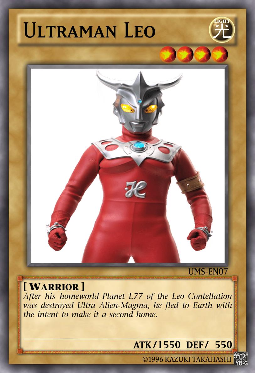 Ultraman Leo by Cyberdraco001 on DeviantArt