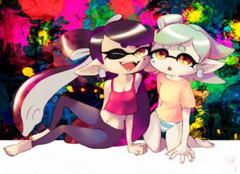 Squid Sisters' Sleepover HD