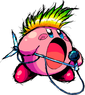 Kirby Mike no background