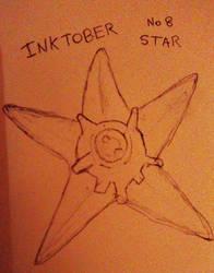 Inkotber no. 8 Star (Staryu) by searingdestiny