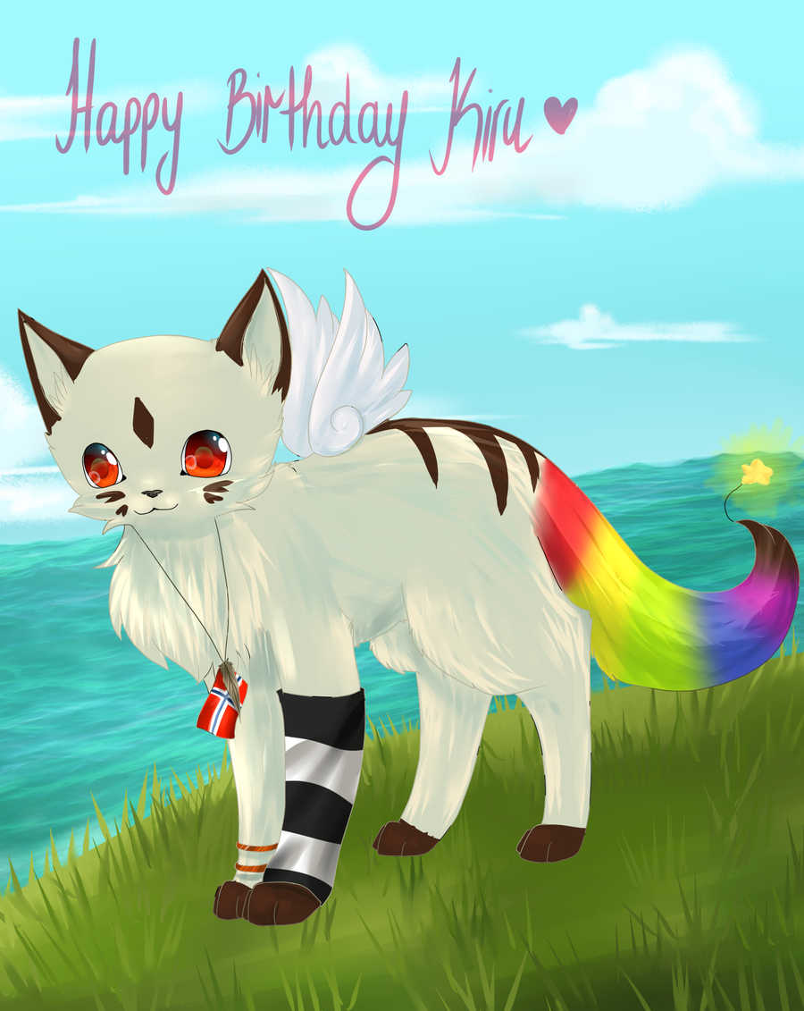 Birthdaygift Kiru by chocobeery