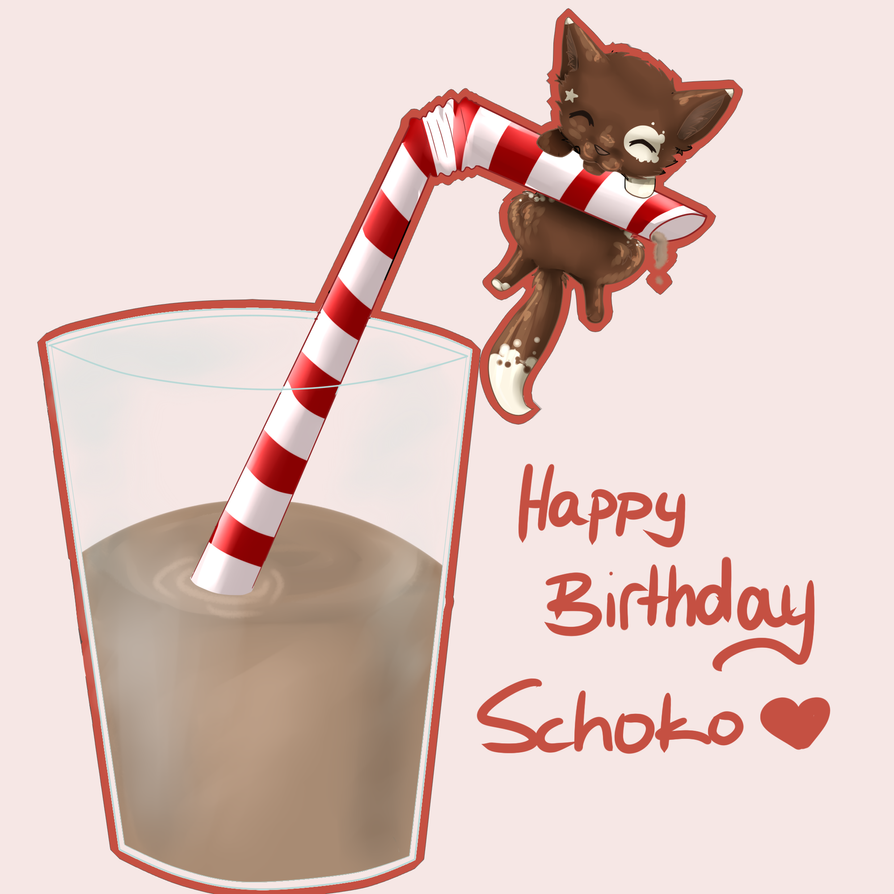 Happy Birthday Schoko by chocobeery