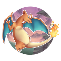 #006 Charizard by chocobeery