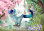 YCH Comission - Spring + Speedpaint