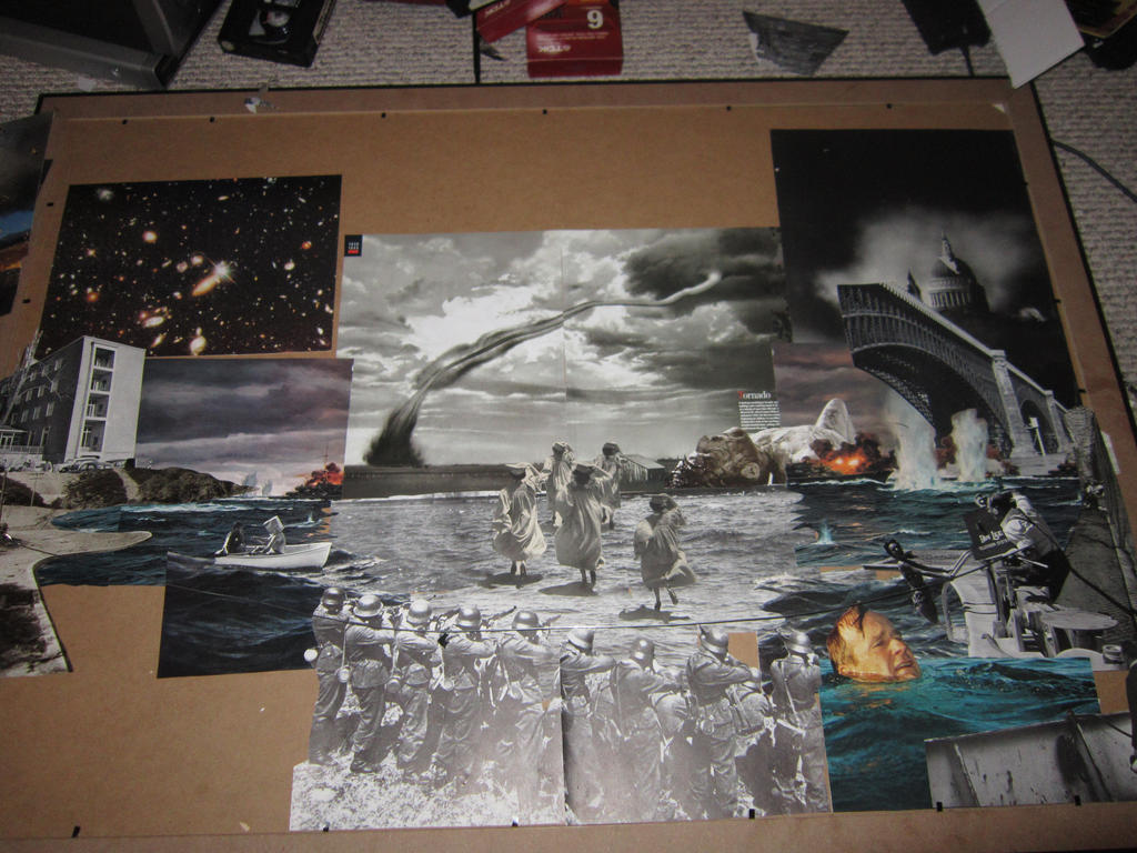 Historical Fiction- Collage in progress by PancreasSupervisor