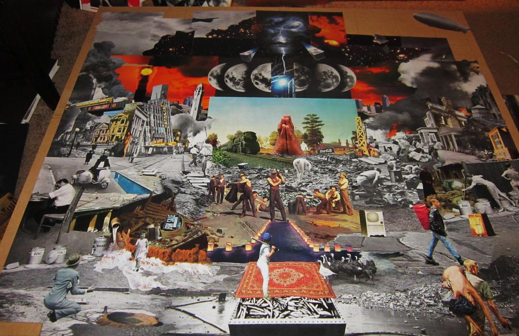 Garbage Strike - Collage in progress by PancreasSupervisor