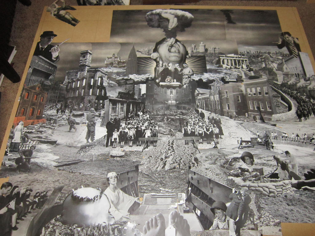 Warscape 2 -collage in progress 3 by PancreasSupervisor