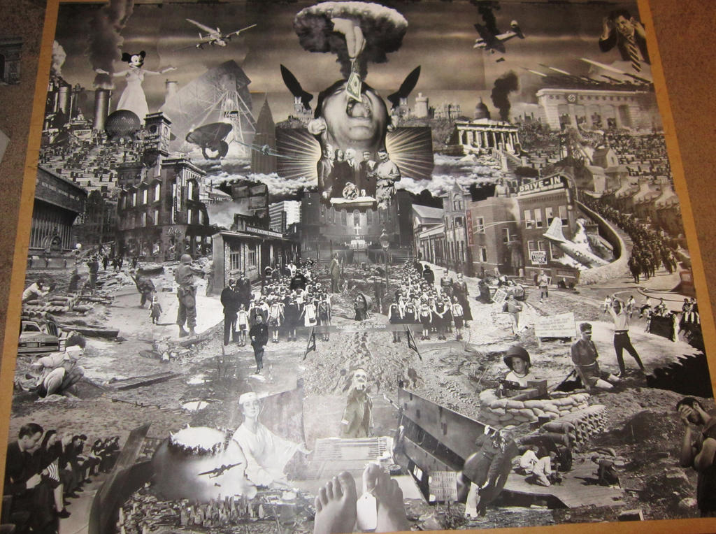 Warscape 2 -collage in progress 4 by PancreasSupervisor