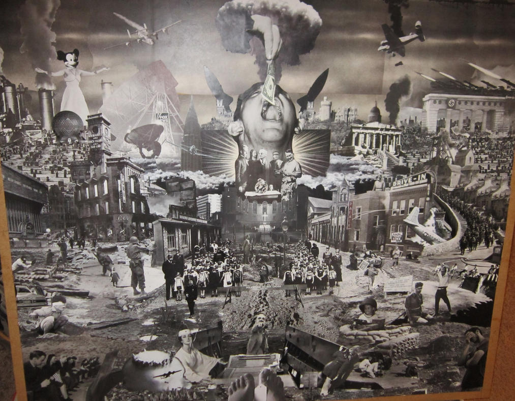 Warscape 2 -collage in progress 5 by PancreasSupervisor