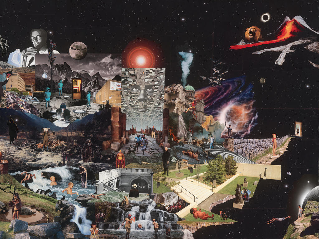 Penal Colony (Right Panel) 12 Ft Collage by PancreasSupervisor