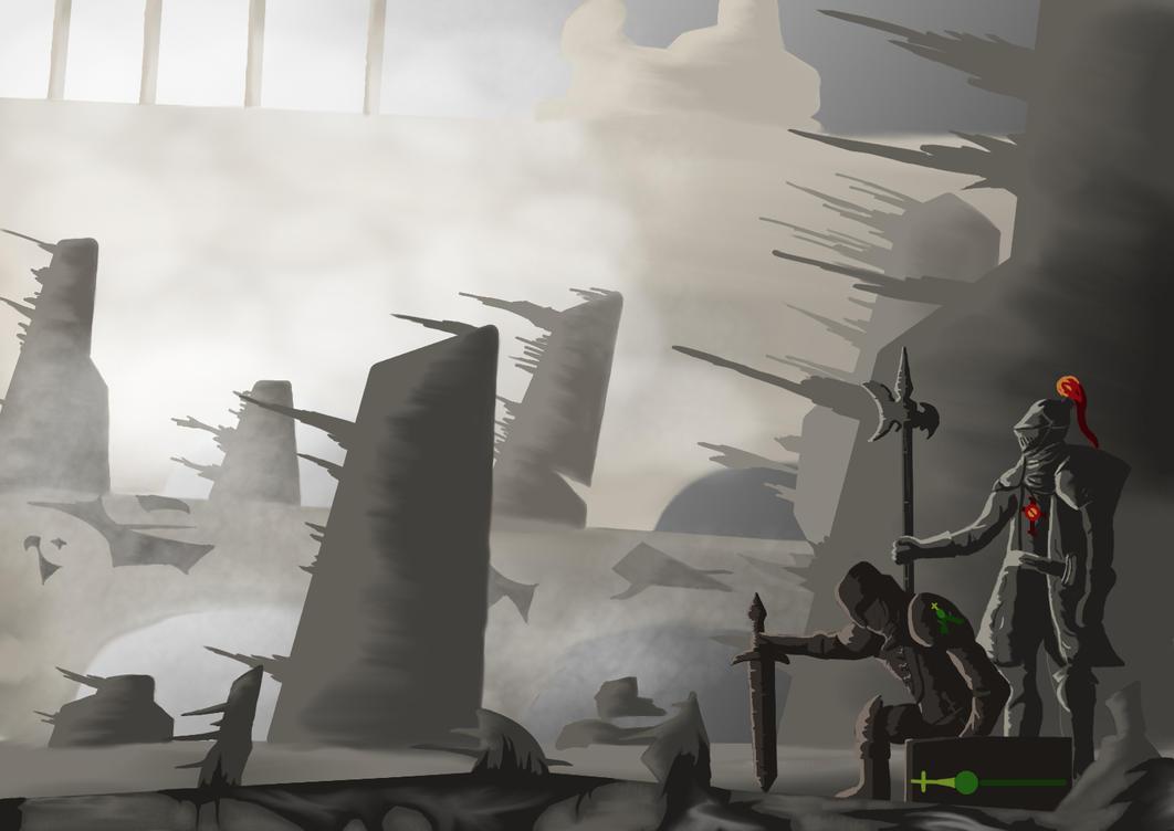 Dark Souls Knights by qprawn