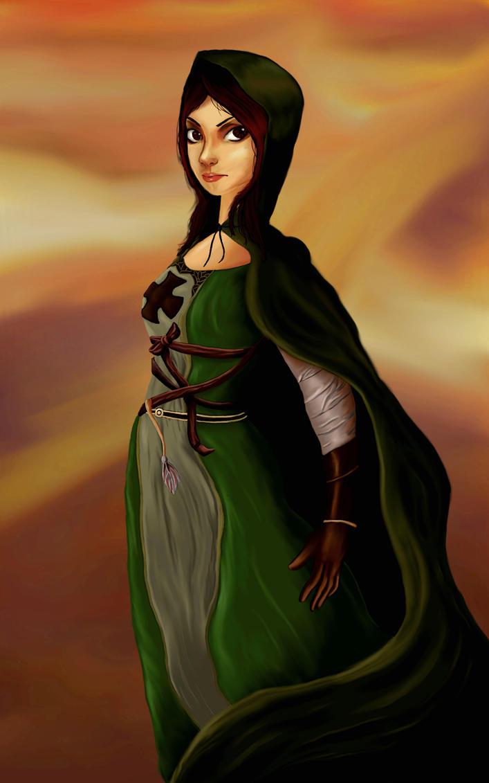Dark Souls Emerald Herald by qprawn