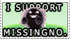 SUPPORT MISSINGNO. by Anrisa