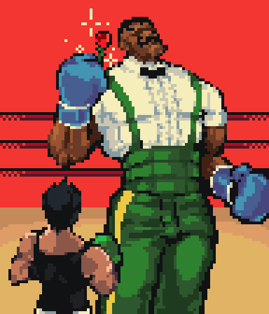 Pixel Dailies - Punchout by YoHeyWhaddup
