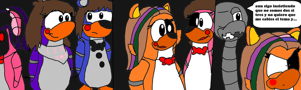 Five nights at freddys club penguin comic 18 by mordiciathe on