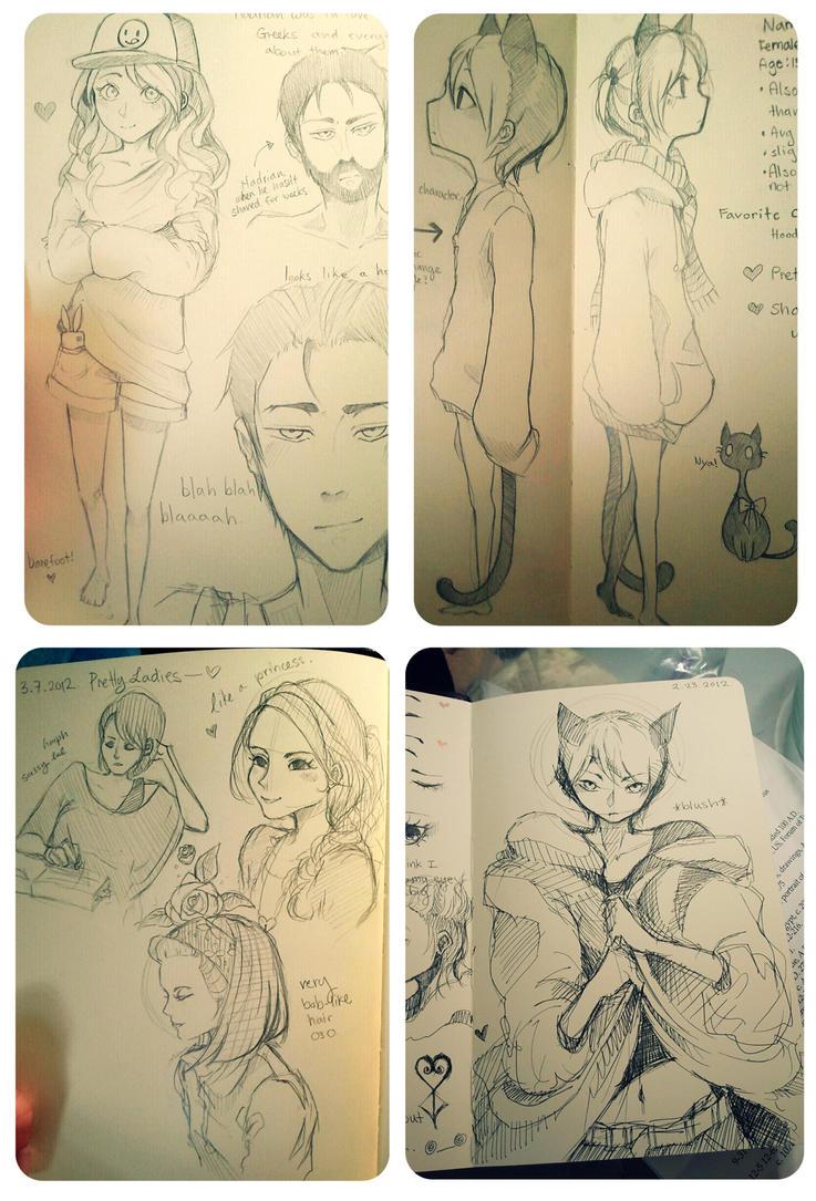 10$ Sketch Commissions! by sabakugaara