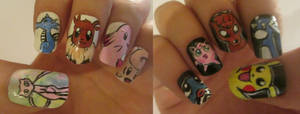 Pokemon nails  :D