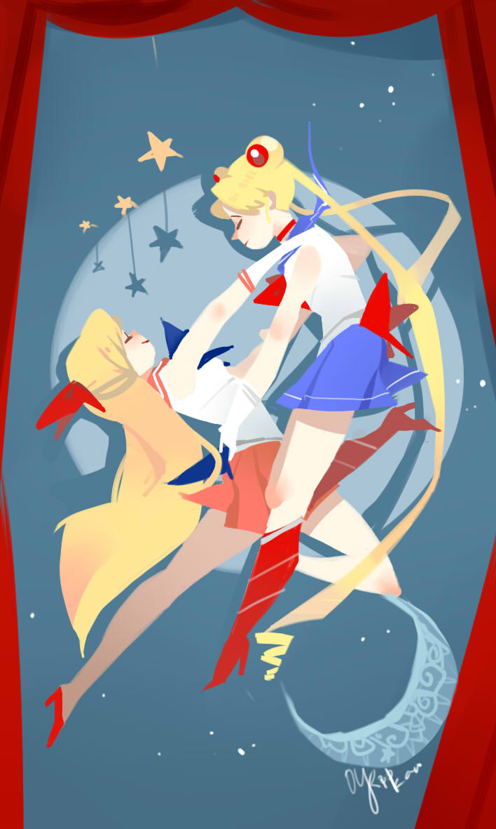 Sailor Moon by JosukeKato