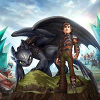A Tale of Dragons / How to Train your Dragon 2 by sebastiancheng