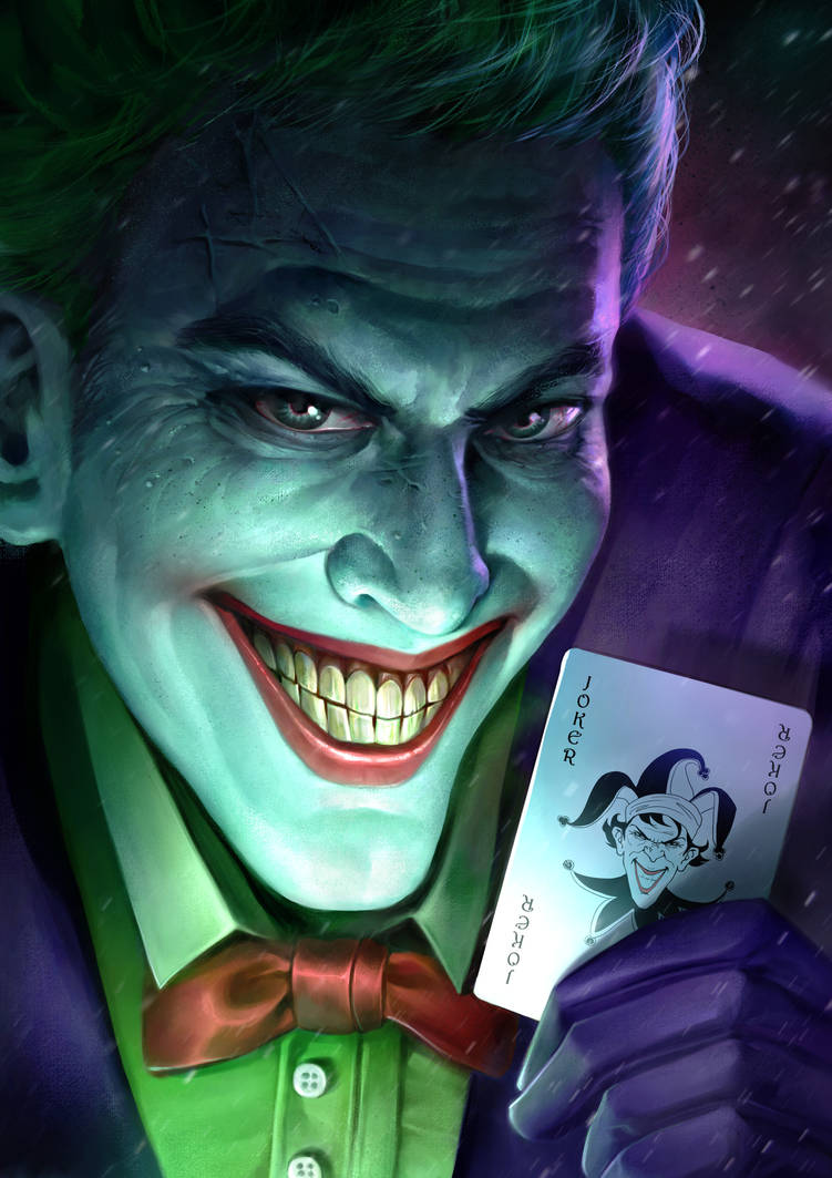 Joker by sebastiancheng