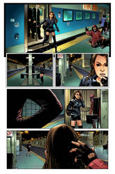 OrphanBlack Deviations#1 Page2 colors by sebastiancheng