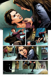 OrphanBlack Deviations#1 Page5 colors by sebastiancheng