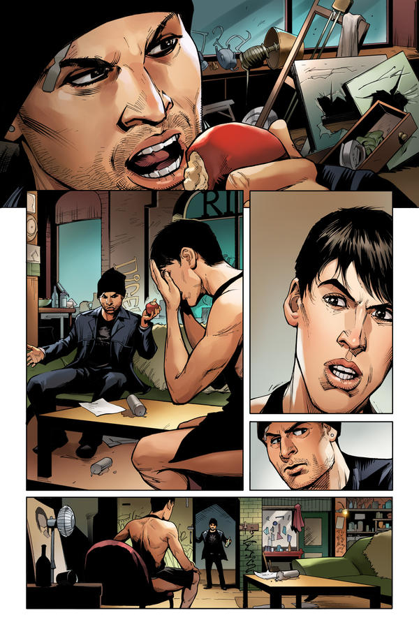OrphanBlack Deviations#2 Page4 Color by sebastiancheng