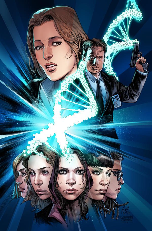 Orphan Black Deviations#1 cover colors by sebastiancheng