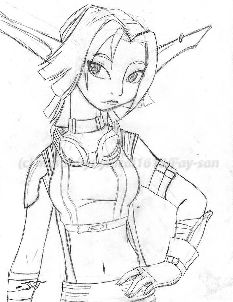 Jak X - Keira\'s racing outfit by Fay-san on DeviantArt