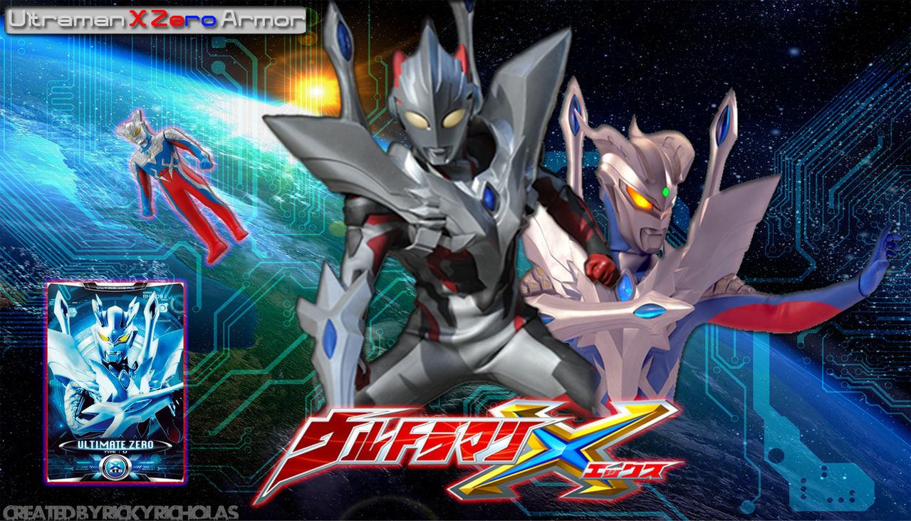 Ultraman X Zero Armor By Vegitodbz On Deviantart