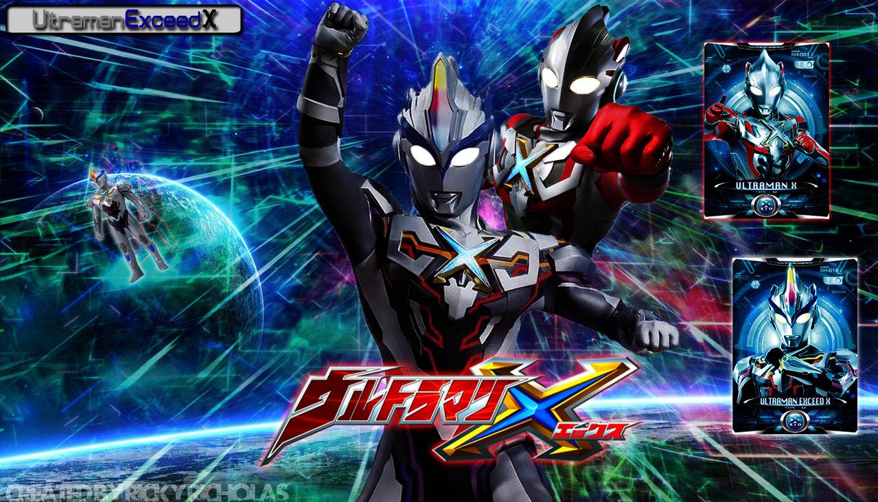Ultraman Exceed X Wallpaper By Vegitodbz On Deviantart