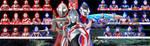Ultraman 50th Anniversary Wallpaper by VegitoDBZ