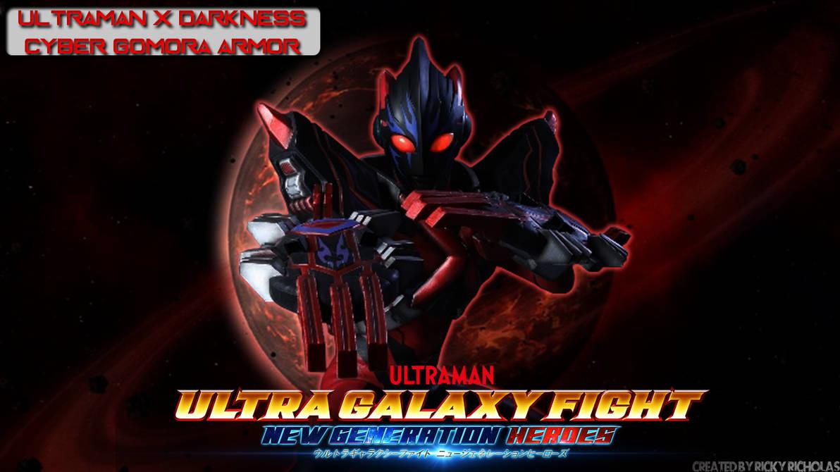 Ultraman X Darkness Cyber Gomora Armor Wallpaper By