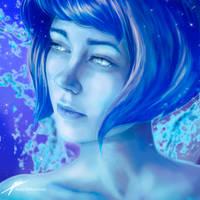 Lapis Lazuli ~ Steven Universe by JenelleArt