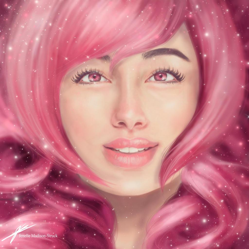 Rose quartz steven universe by jenelleart on deviantart - Rose quartz steven universe wallpaper ...