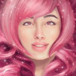 Rose Quartz ~ Steven Universe by JenelleArt
