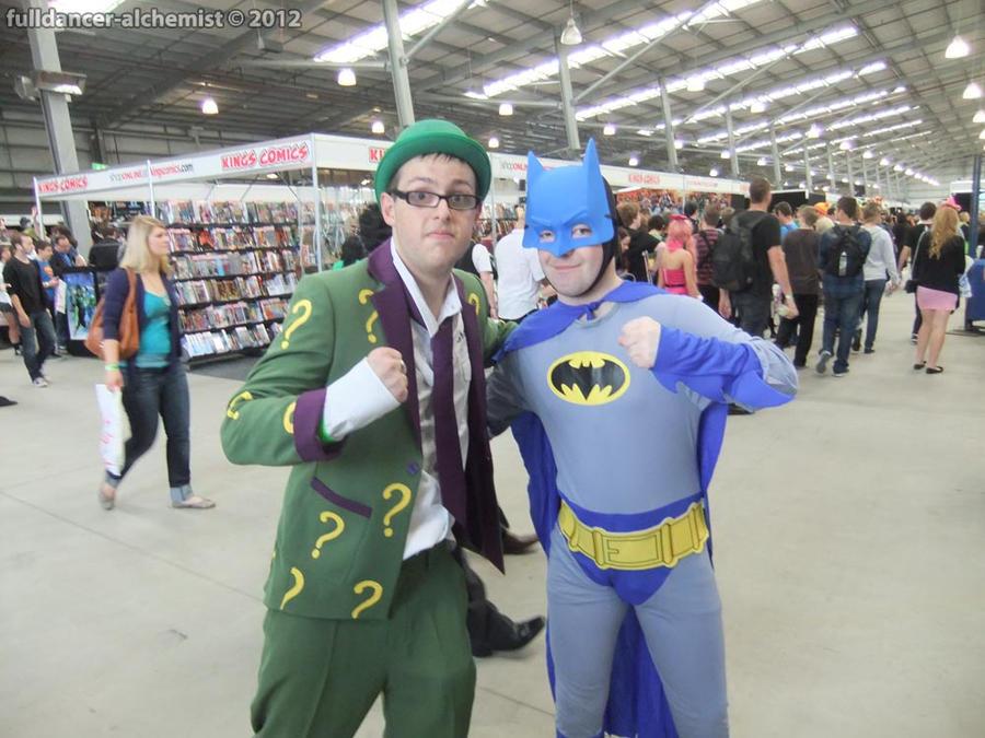 Supanova 2012 - Batman and Riddler 1 by fulldancer-alchemist