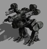 IDotW045 - Gladiator WIP2 by Legato895