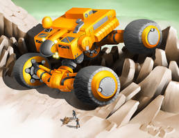 IDotW047 - Exploration Vehicle by Legato895