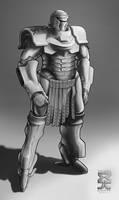 Spearpoint: Roman Power Armor by Legato895